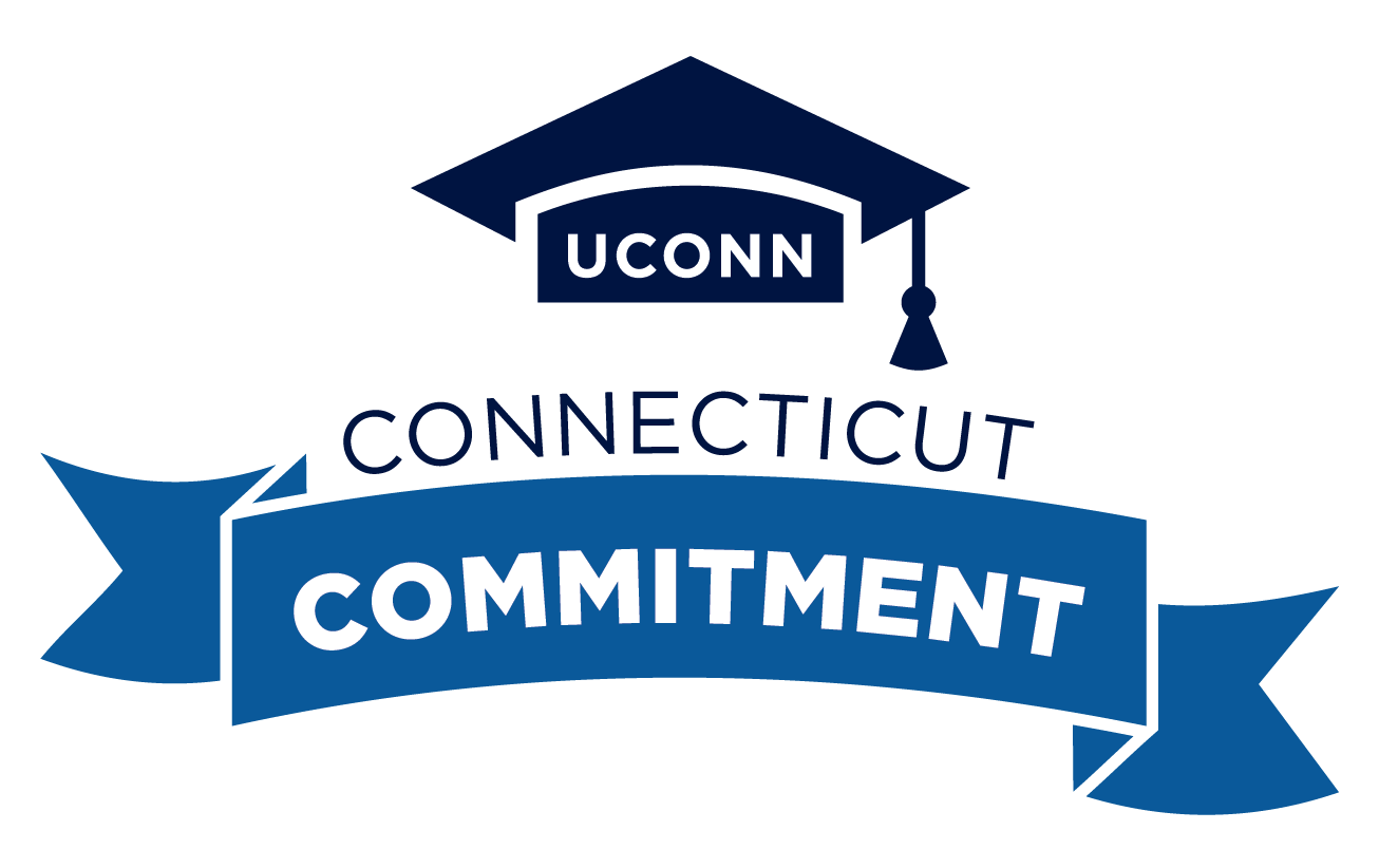 UConn Connecticut Commitment logo